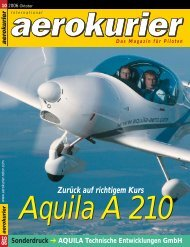 Aquila A 210 - Flying Forever