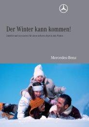 Der Winter Kann Kommen! - Mercedes Benz