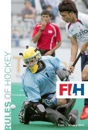 FIH-Rules of Hockey 2012.indd - International Hockey Federation