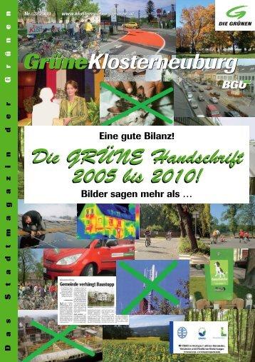 Frühjahr 2010/1 - buergerunion.at