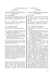Fernwärme Vahrn-Brixen Konsortial-GmbH Satzung