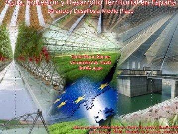Agua, Cohesión y Desarrollo Territorial en España