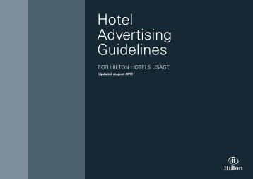Hotel Advertising Guidelines