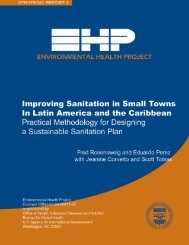 Improving Sanitation in Small Towns - The Water, Sanitation and ...