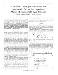 Analytical Technique To Evaluate The Asymptotic Part Of The ...
