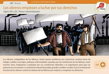 Los obreros empiezan a luchar por sus derechos - Manosanta