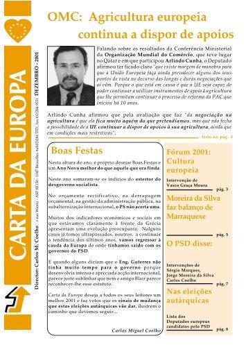 Dezembro - Carlos Coelho