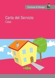Carta Servizio Casa - Comune di Rovigo