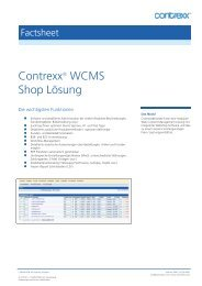 Contrexx® WCMS Shop Lösung
