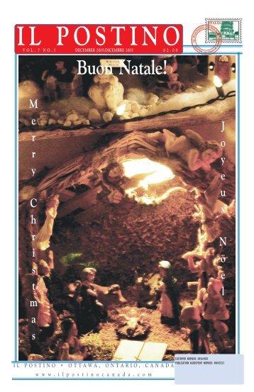 December 2005 PDF Vol. 7 No. 3 - Il Postino