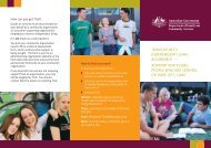 Transition to Independent Living Allowance Brochure - Australian ...