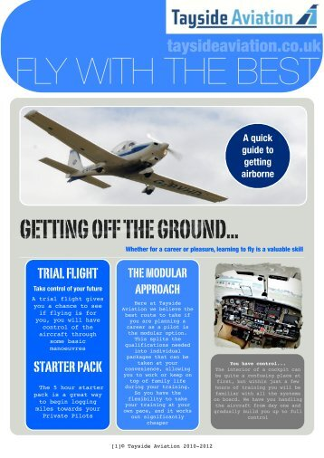 Download our free guide here - Tayside Aviation