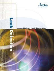 Portable Helium Leak Detection from MKS - Vacuum-Guide