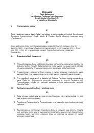 REGULAMIN Rady Nadzorczej - Empik Media & Fashion