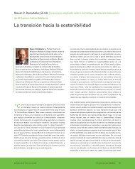 La transición hacia la sostenibilidad - Earth Charter Initiative