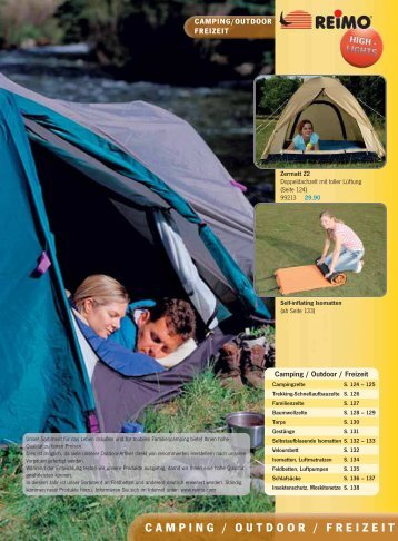 CAMPING / OUTDOOR / FREIZEIT - Ludospace
