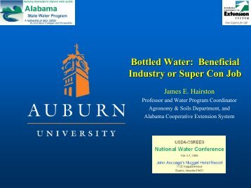 Bottled Water: Beneficial Industry or Super Con Job?