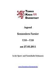 Ausschreibung - Tenniskreis Darmstadt