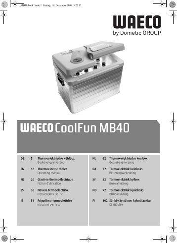 CoolFun MB40 - Waeco