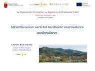 8 - Identificación varietal mediante marcadores moleculares. - imida