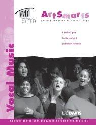 Vocal Music - Mondavi Center - UC Davis