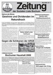 Gewinne und Dividenden im Rekordhoch - Zeitungen - Soziale Liste