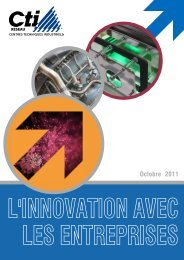 L'innovation avec les entreprises - Réseau CTI