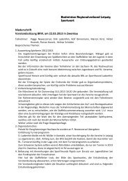 Protokoll Vorstandssitzung des BRV-Leipzig am ... - Dirk Ladenthin