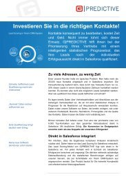 One-Pager G-Predictive - H+W CONSULT GmbH
