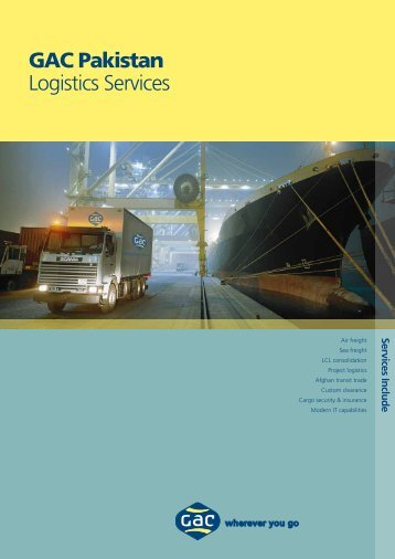 GAC Pakistan Logistics Services