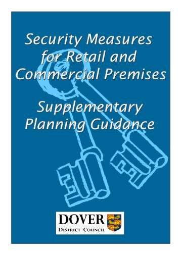 Security Measures for Retail and Commercial Premises