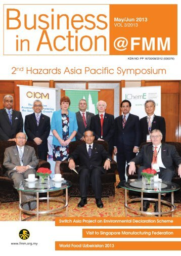 (May-June) 2013 issue.pdf - Federation of Malaysian Manufacturers