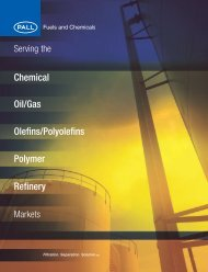Pall Fuels and Chemicals Capabilities Brochure ... - Pall Corporation