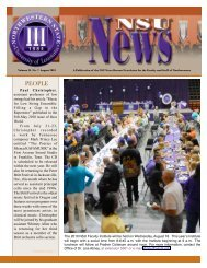 NSU News August 20101 - Northwestern State University