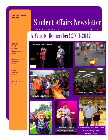 May Newsletter 2012.pub - Missouri Valley College