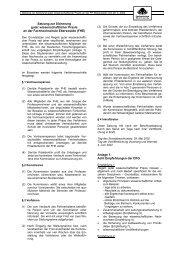 Satzung zur Sicherung guter wissenschaftlicher Praxis an der ...