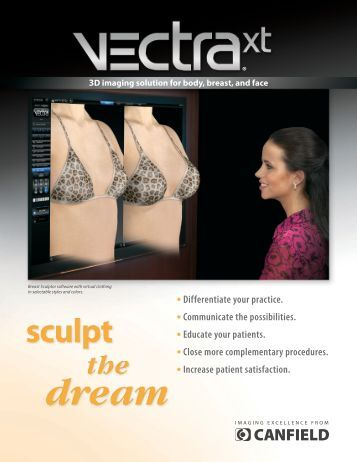 VECTRA XT 3D face and body - Canfield Scientific Inc