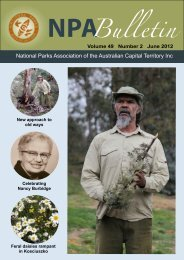 Vol 49 No 2 Jun 2012 - National Parks Association of the ACT