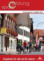 Angebote für alle ab 60 Jahren - Pro Senectute Luzern