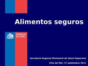 Enfermedades transmitidas por alimentos - SEREMI de Salud ...