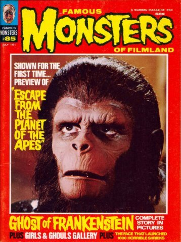 Download FM #85 PDF - Hunter's Planet of the Apes Archive