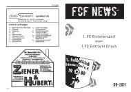 FCF News 09/2011 - 1.FC Frimmersdorf