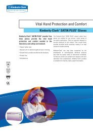 Vital Hand Protection and Comfort - Kimberly Clark Professional