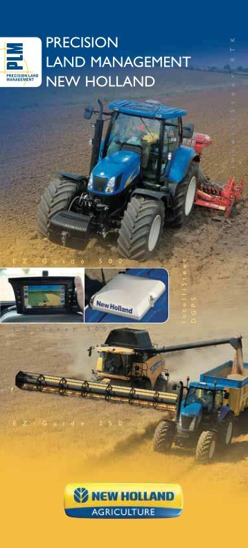 PRECISION LAND MANAGEMENT NEW HOLLAND