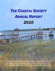 2010 Annual Report - The Coastal Society