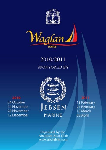 Jebsen Marine Waglan Series 2010 -2011 - the Aberdeen Boat Club
