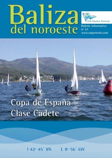 la baliza del noroeste número 23-2007 - Club Náutico Portosín