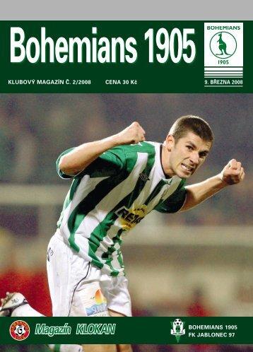 Číslo 2/2008 B1905 - Bohemians 1905
