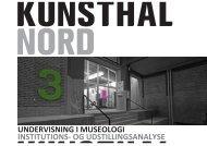 Download lærervejledning her - Kunsthal Nord