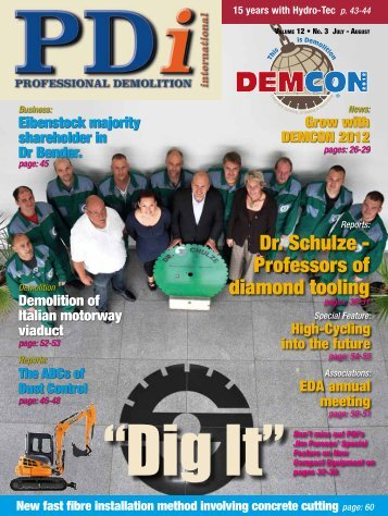 Dr. Schulze - Professors of diamond tooling - Dr. Schulze GmbH